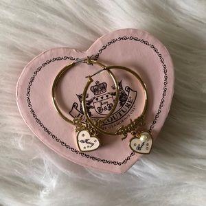 BRAND NEW Juicy Couture Hoop Earrings